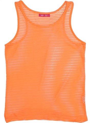 T-shirt sans manches fille PRIMARK orange 11 ans été #1335897_1