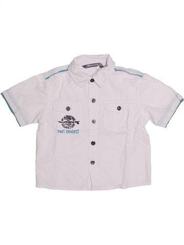 Camisa de manga corta niño TOUT COMPTE FAIT blanco 3 años verano #1335979_1