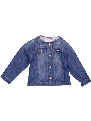 Veste fille OKAIDI bleu 3 ans été #1336058_1