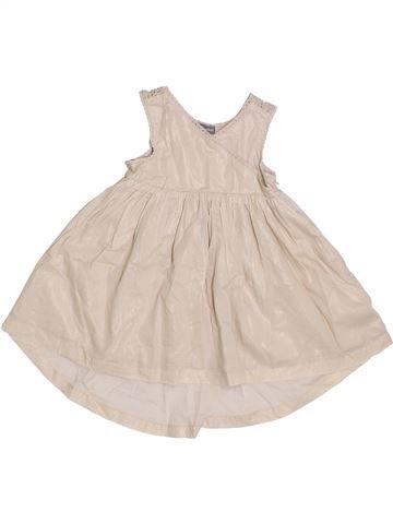 Robe fille VERTBAUDET beige 2 ans été #1336080_1
