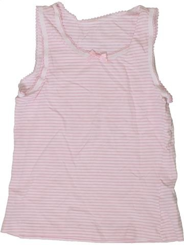 T-shirt sans manches fille TU rose 6 ans été #1336169_1