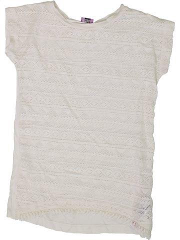 T-shirt sans manches fille F&F blanc 9 ans été #1336304_1