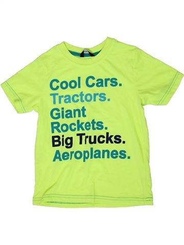 T-shirt manches courtes garçon GEORGE vert 6 ans été #1336389_1