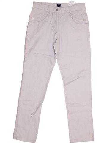 Pantalón niña TERRE DE MARINS blanco 10 años verano #1336397_1