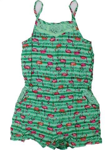 Combinaison courte fille TU vert 7 ans été #1336897_1