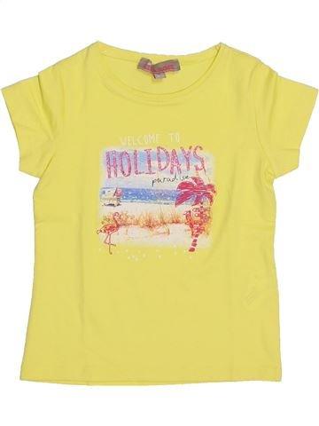 Camiseta de manga corta niña LISA ROSE amarillo 3 años verano #1337071_1