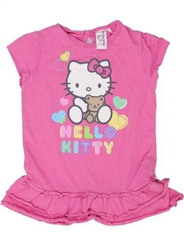 Vestido niña HELLO KITTY rosa 9 meses verano #1337466_1