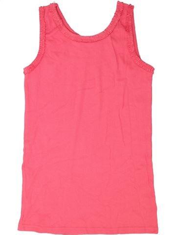 T-shirt sans manches fille I LOVE GIRLSWEAR rose 13 ans été #1337920_1