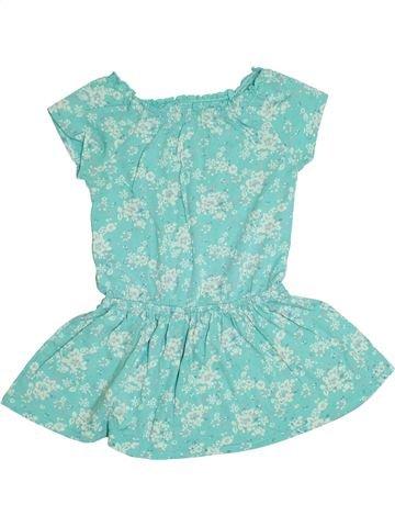 Robe fille VERTBAUDET vert 4 ans été #1338243_1