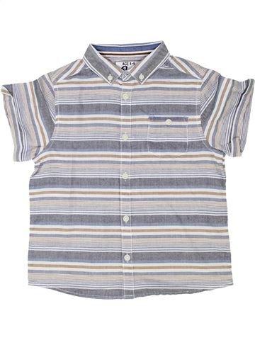 Chemise manches courtes garçon BOYS gris 5 ans été #1338326_1