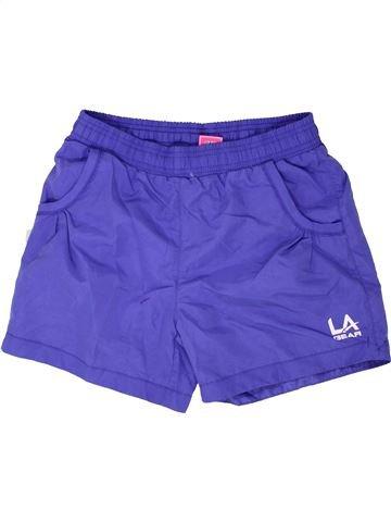 Short de sport fille LA GEAR violet 13 ans été #1339111_1