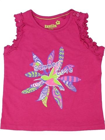 T-shirt sans manches fille LUPILU rose 2 ans été #1339374_1