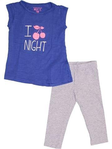 Pijama de 2 piezas niña TAPE À L'OEIL azul 2 años verano #1340782_1