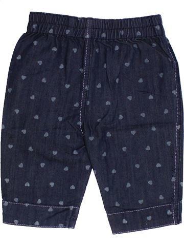 Pantalon fille SUCRE D'ORGE bleu 6 mois été #1340809_1