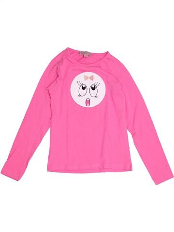 T-shirt manches longues fille LISA ROSE rose 8 ans hiver #1341438_1