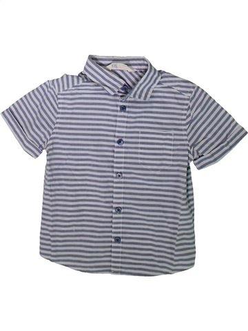 Chemise manches courtes garçon H&M gris 2 ans été #1341570_1