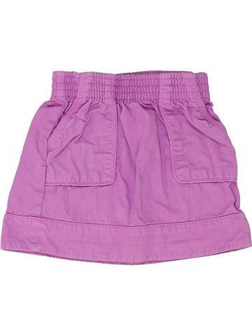 Jupe fille OKAIDI violet 3 ans été #1342049_1