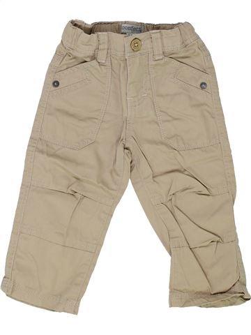 Pantalon garçon CONFETTI beige 12 mois été #1342282_1