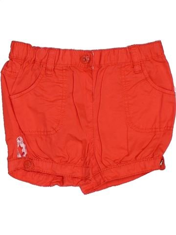 Short - Bermuda fille OBAIBI orange 12 mois été #1343078_1