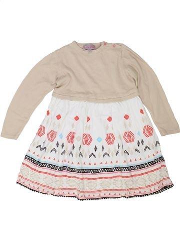 Robe fille LISA ROSE blanc 4 ans hiver #1343213_1