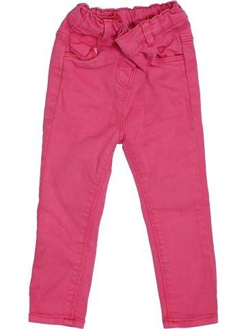 Pantalon fille TAPE À L'OEIL rose 18 mois été #1343558_1