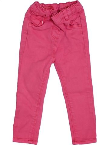 Pantalón niña TAPE À L'OEIL rosa 18 meses verano #1343558_1
