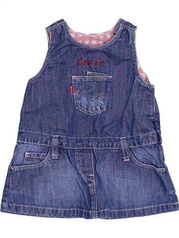 Vestido niña LEVI'S azul 6 meses verano #1344131_1