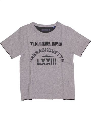 Camiseta de manga corta niño TIMBERLAND violeta 6 años verano #1344414_1