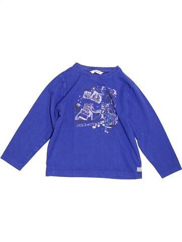 Camiseta de manga larga niño 3 POMMES azul 8 años invierno #1344488_1