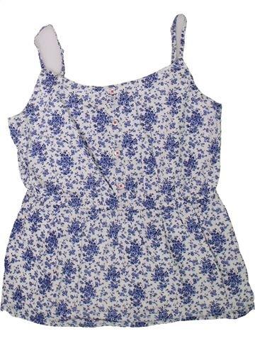 T-shirt sans manches fille JOHNNIE B bleu 14 ans été #1345443_1