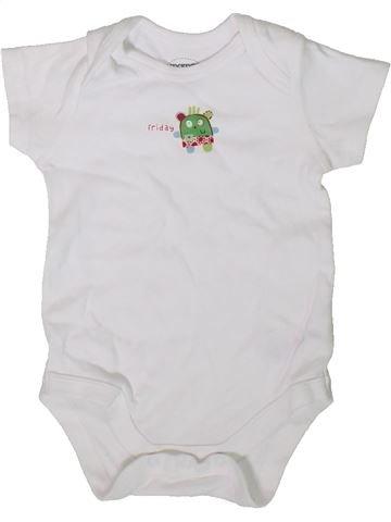 Camiseta de manga corta niño MAMAS & PAPAS blanco 3 meses verano #1345470_1