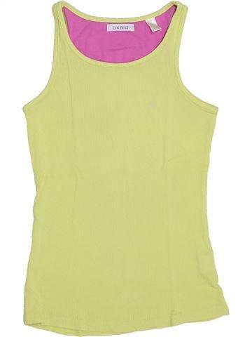 T-shirt sans manches fille OKAIDI vert 12 ans été #1345745_1