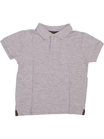 Polo de manga corta niño MONOPRIX gris 5 años verano #1346190_1