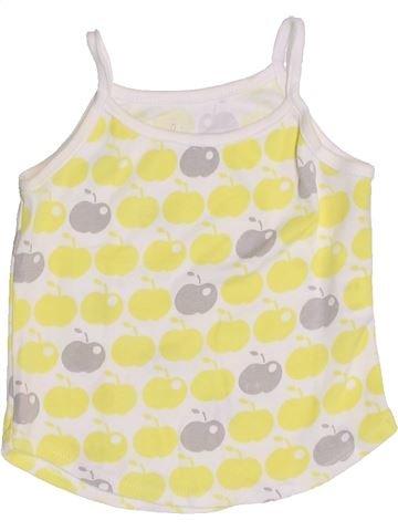 T-shirt sans manches fille LISA ROSE beige 4 ans été #1346539_1