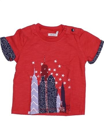 Camiseta de manga corta niño IKKS rojo 6 meses verano #1346868_1