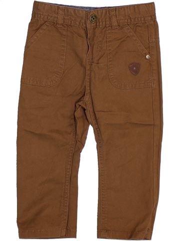 Pantalon garçon TAPE À L'OEIL marron 6 mois été #1346928_1