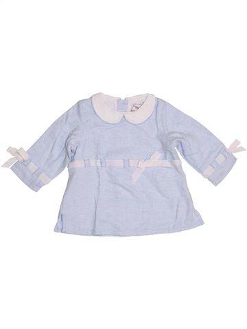 Blusa de manga larga niña CHATEAU DE SABLE blanco 18 meses invierno #1347472_1