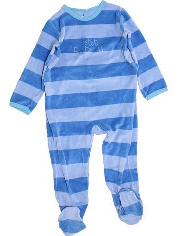 Pijama de 1 pieza niño PETIT BATEAU azul 3 años invierno #1347496_1