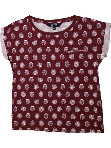 T-shirt manches courtes fille NEW LOOK violet 13 ans été #1347889_1