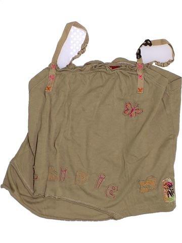 Camiseta sin mangas niña CHIPIE marrón 6 años verano #1347944_1