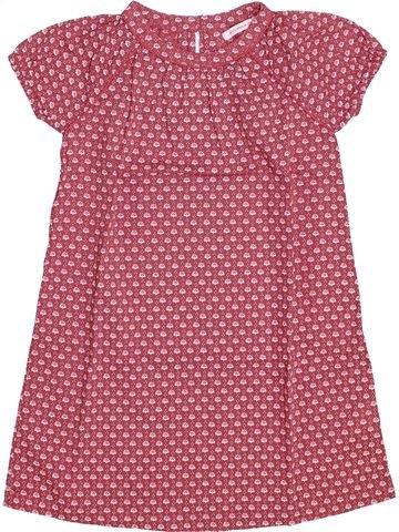 Blusa de manga corta niña MONOPRIX rosa 4 años verano #1348290_1