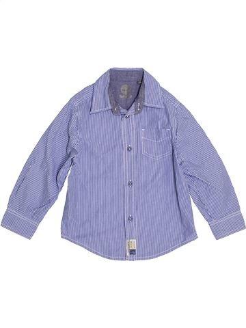 Chemise manches longues garçon TIMBERLAND violet 4 ans hiver #1348309_1