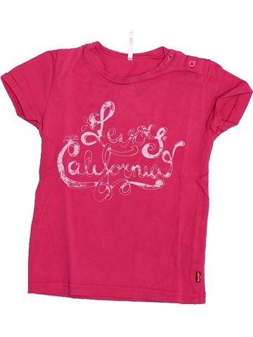 T-shirt manches courtes fille LEVI'S rose 2 ans été #1348507_1