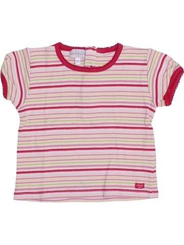 Camiseta de manga corta niña NATALYS violeta 3 años verano #1350059_1