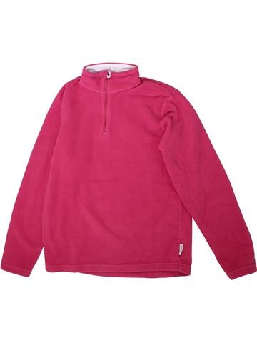 Pull fille QUECHUA rose 14 ans hiver #1350295_1