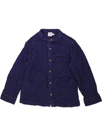 Chemise manches longues garçon MINI CLUB bleu 3 ans hiver #1350360_1