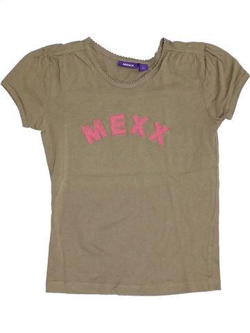 T-shirt manches courtes fille MEXX marron 8 ans été #1350455_1