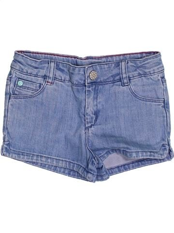 Short-Bermudas niña CYRILLUS azul 6 años verano #1350917_1