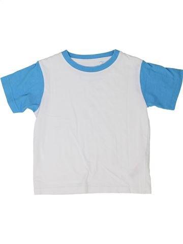 Camiseta de manga corta niño DEBENHAMS blanco 3 años verano #1350967_1