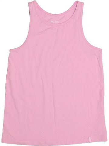 T-shirt sans manches fille DPAM rose 12 ans été #1351041_1